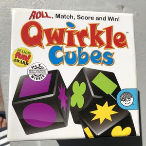 Quirkle cubes board game toy for Sale in Burlingame, CA