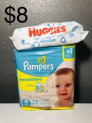 Pampers size 4 for Sale in Houston, TX