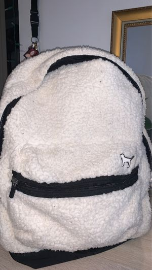 Rare VS pink Sherpa backpack for Sale in Santa Fe Springs, CA