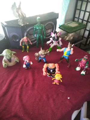 Action figures collectables 5$ each for Sale in La Verne, CA