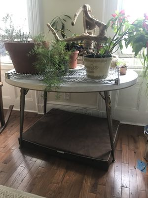 Chrome and Formica oval table for Sale in Queens, NY