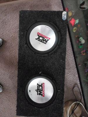 Mtx audio 4500 10 inch ...american bass 1600 watt phantom series for Sale in Newark, OH