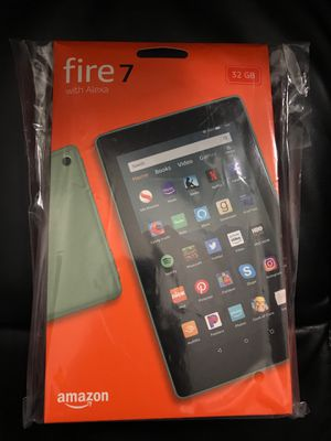 Amazon Fire Tab 7 Brand new Tablet & Case for Sale in Folsom, CA