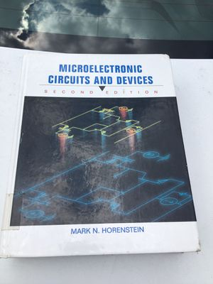 Microelectronic Circuits and Devices (Horenstein) (2nd Ed) for Sale in Lexington, KY