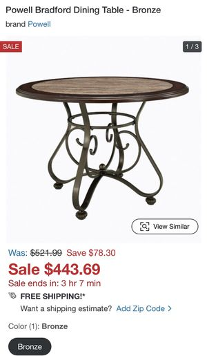Brand new dining table need to sell for Sale in Scottsdale, AZ