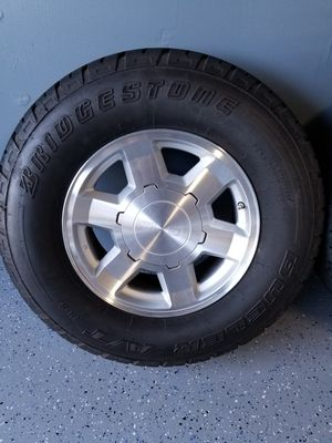 "17"" Gmc Yukon Sierra rims for Sale in Tucson, AZ"
