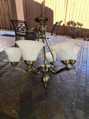 Gold chandelier for Sale in Miami, FL