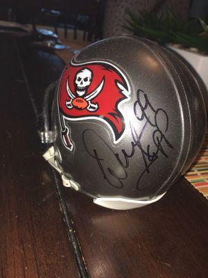 Warren sap signed helmet for Sale in Seminole, FL