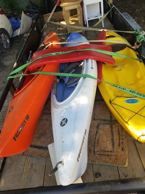 3 kayaks. Looking to trade for nice canoe/ boat/ toys for Sale in Austin, TX