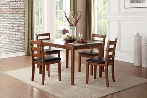 5 Pcs dining table. New in boxes. Price firm for Sale in Montclair, CA
