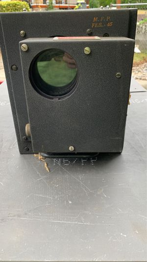 1945 First Generation Smart Bomb Camera for Sale in Auburn, WA