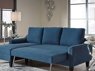 Only 💢Sofa Chaise 💐Jarreau Blue Sofa Chaise Sleeper 👁️🗨️. for Sale in College Park,  MD