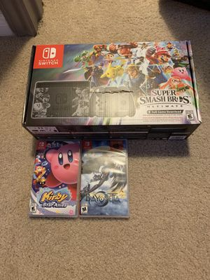 Super Smash Bro's Nintendo Switch + Games for Sale in Austin, TX