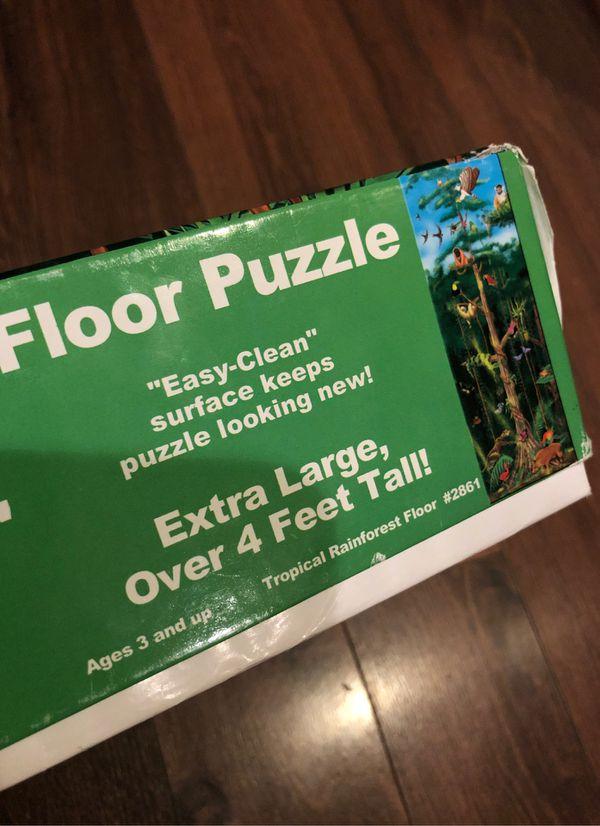 Melissa and Doug rainforest Puzzle - preschool - homeschool