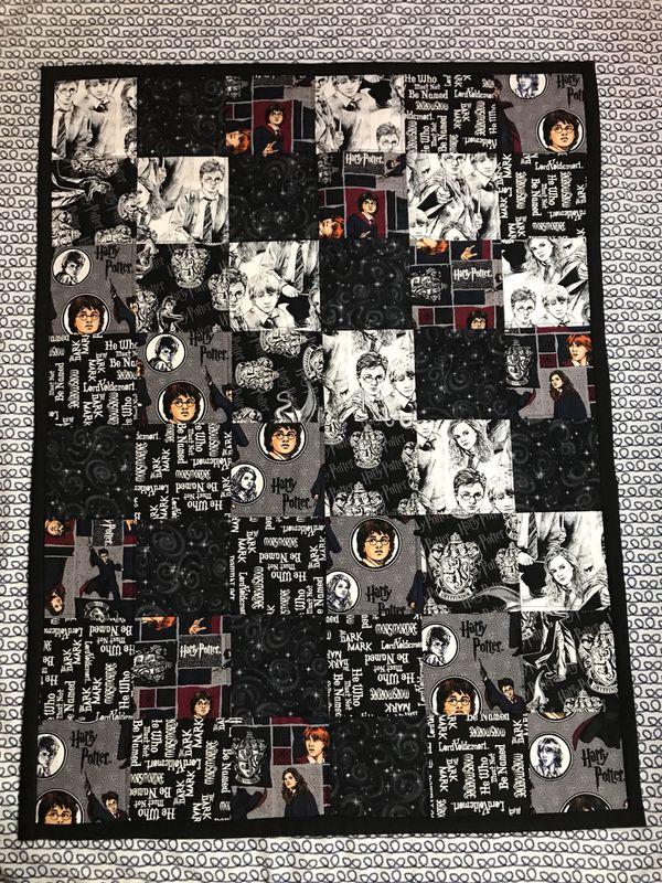 Toddler size Harry Potter quilt for Sale in Glendale, AZ ...