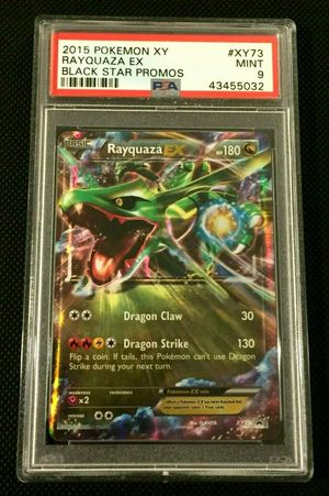 Rayquaza EX Black Star Promo Pokemon XY #XY73 PSA 9 MINT for Sale in Centennial, CO