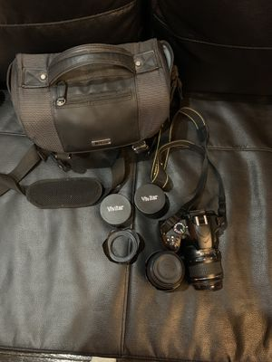 Nikon d3200 with extras for Sale in Franklin Park, IL