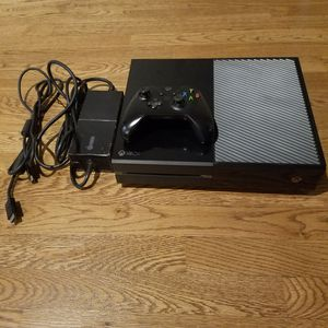 Xbox One 500GB Black Console for Sale in Aspen Hill, MD