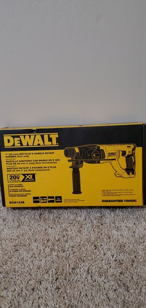 DEWALT 20-Volt MAX XR Lithium-Ion 1 in. Cordless SDS-Plus Brushless D-Handle Concrete & Masonry Rotary Hammer (Tool-Only) for Sale in Bakersfield, CA