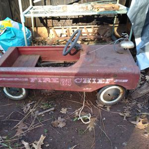 Antique Fire Chief Pedal Car for Sale in Chico, CA
