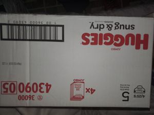 Huggies - Snug & Dry - Size 5 diapers .. brand new .. for Sale in Stickney, IL