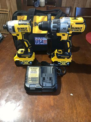 Dewalt hammer drill and impact driver 20 V for Sale in Durham, NC