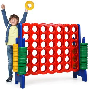 SP37059 Costway Jumbo 4-to-Score 4 in A Row Giant Game Set Kids Adults Family Fun for Sale in Santa Ana, CA