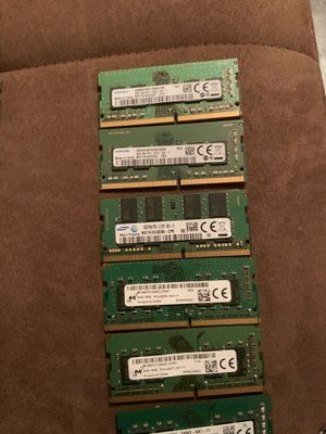 DDR4 8GB RAM \MEMORY STICKS (read details) for Sale in Chicago, IL