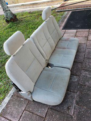 Chevy Silverado seats (2nd row) for Sale in Miami Springs, FL