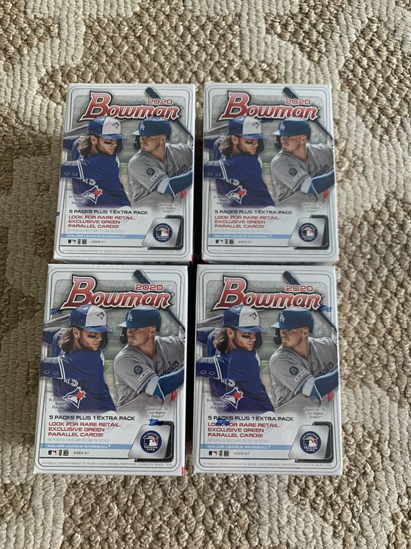 2020 Topps Bowman Blasters