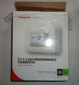 Honeywell T3 5-2 Day Programmable Thermostat @M1 for Sale in St. Louis, MO