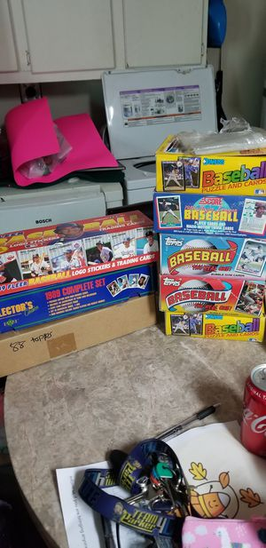 Thousands of late 1980s baseball cards for Sale in Lakeside, CA