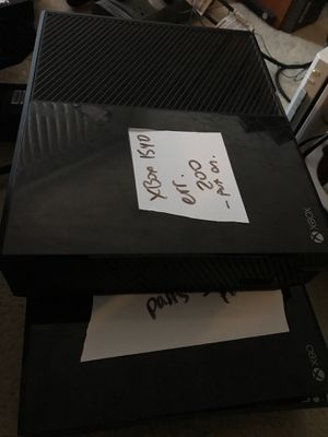 2 xbox one - both model 1540 for Sale in Los Angeles, CA