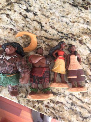 Moana figurine cake toppers for Sale in Renton, WA