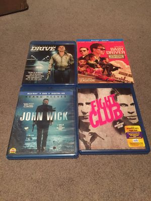 Blu ray dvd digital copies of movies for Sale in Lakeside, CA