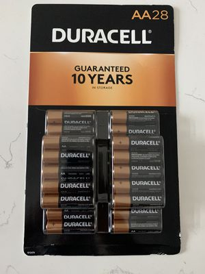 28 Count Duracell AA BATTERIES (brand new) for Sale in Pembroke Pines, FL