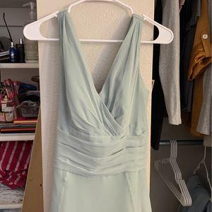 David's Bridal Exclusive Light Green Dress for Sale in West Jordan, UT
