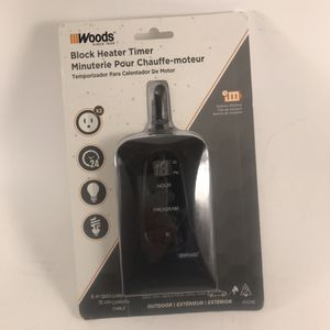 Woods Block Heater Timer 50016 for Sale in Anchorage, AK
