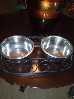 Pet dish $$$15 for Sale in Irving, TX