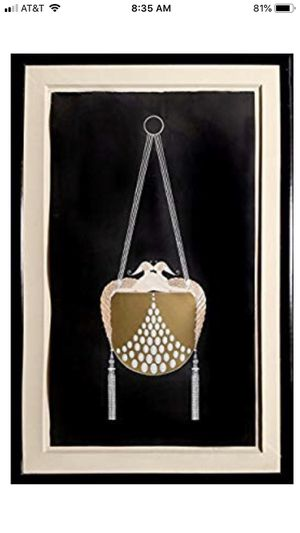 Art work. Erte signed lithograph for Sale in Fort Lauderdale, FL
