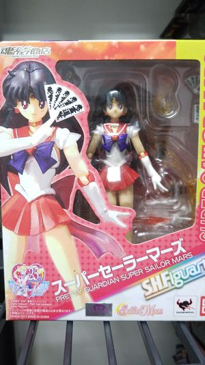 S.H. Figuarts Super Sailor Mars from Sailor Moon for Sale in Loma Linda, CA