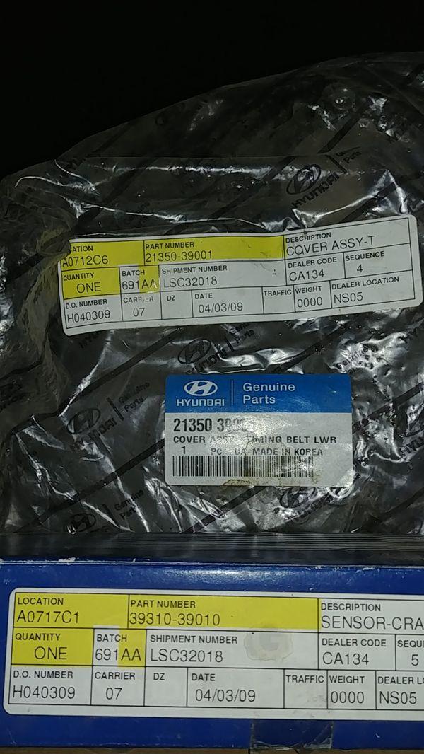 Hyundai engine parts new