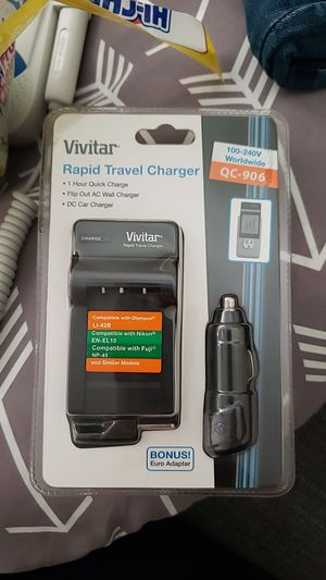 Camera charger new in package for Sale in Carson, CA