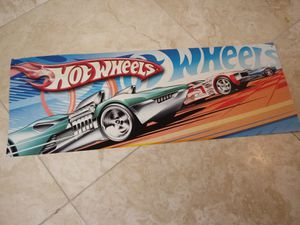Hot wheels - vintage - sign - toys - cars - trucks - collectible - cases - wheels - hot - Mattel - decal for Sale in Naples, FL