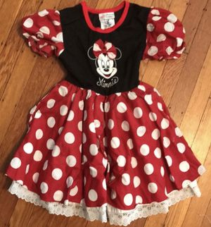 DISNEY: MINNIE MOUSE COSTUME/DRESS- Size XS - GIRLS 3/4 for Sale in Las Vegas, NV