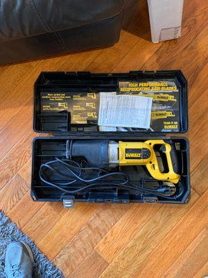 Dewalt Reciprocating Saw for Sale in Carlsbad, CA