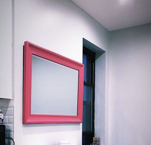 HandPainted Pink Mirror for Sale in New York, NY