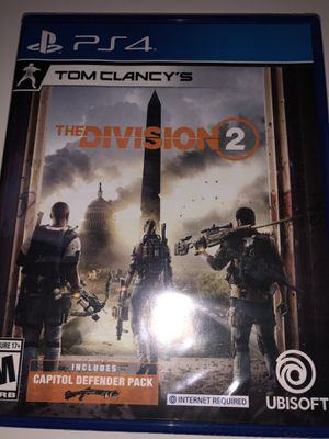 The Division 2 ( PS4 ) for Sale in Fort Washington, MD