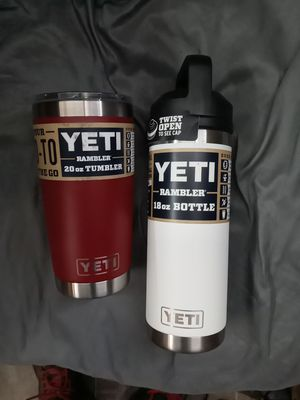Yeti thermos and tumbler for Sale in Fresno, CA