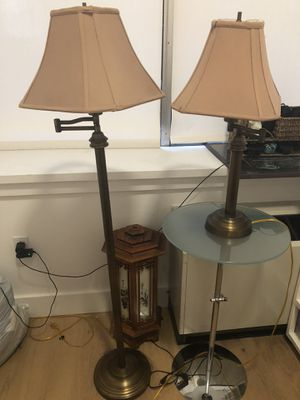 Brass Lamp Set (Home Depot) $50 for Sale in New York, NY